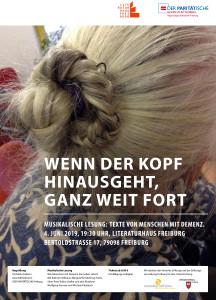 Plakat Lesung Bruchstuecke